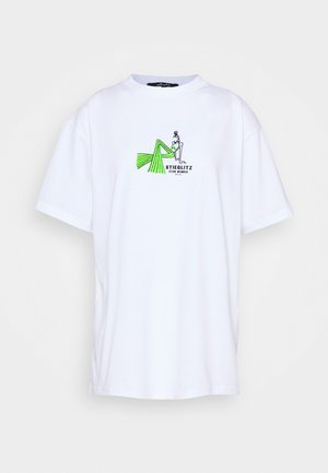 YEAR TEE - Print T-shirt - white