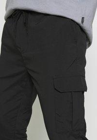 Brave Soul - MARINES - Cargo trousers - black - 5