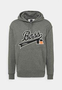 BOSS - BOSS X RUSSELL ATHLETIC SAFA - Kapuzenpullover - medium grey - 3