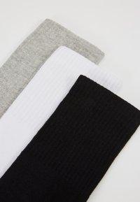 Urban Classics - SPORT 3 PACK - Socks - black/white/grey - 2
