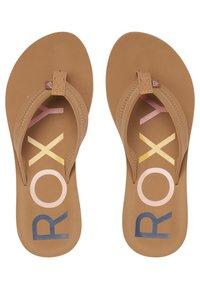 Roxy - VISTA III - T-bar sandals - tan - 1