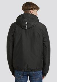 TOM TAILOR DENIM - MIT KAPUZE - Light jacket - black - 1