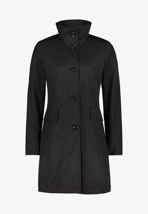 MIT STEHKRAGEN - Short coat - black