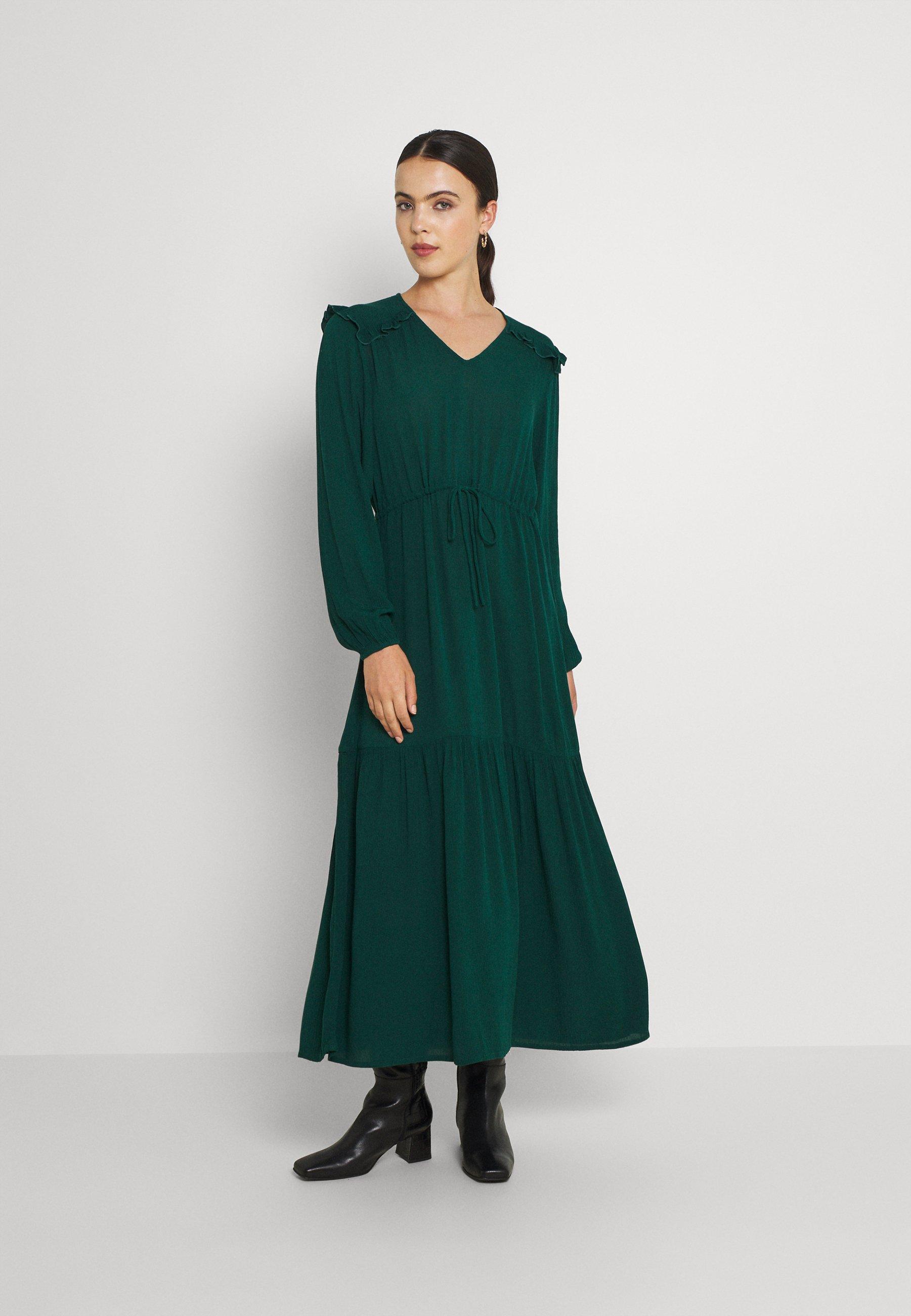 Women VIPOMPO TIE BELT MEDI DRESS - Day dress