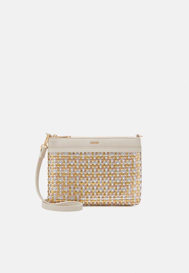 CROSSBODY BAG - Taška spříčným popruhem - beige