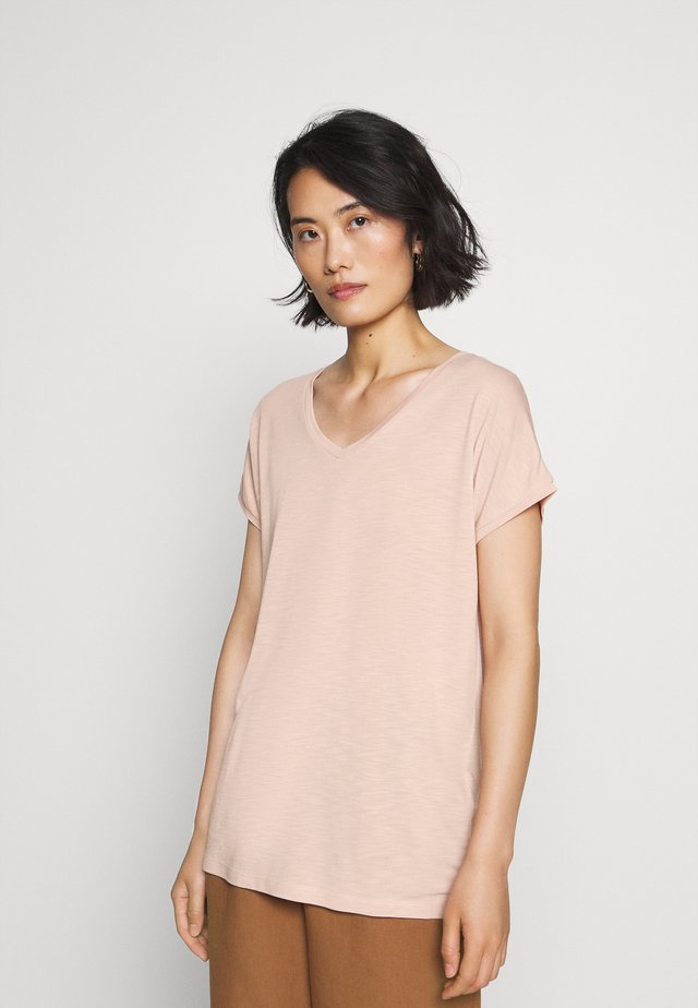 SC-GINETTE 2 - Basic T-shirt - rose smoke