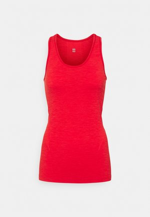 ATHLETE SEAMLESS WORKOUT - Débardeur - rich red
