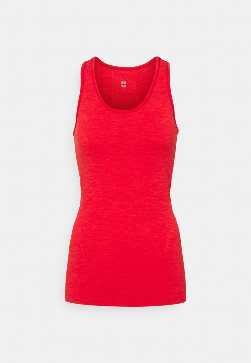 Sweaty Betty - ATHLETE SEAMLESS WORKOUT - Top - rich red