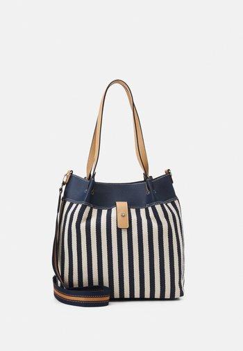 GINA - Tote bag - mixed blue