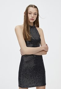 PULL&BEAR - Sukienka koktajlowa - black - 3