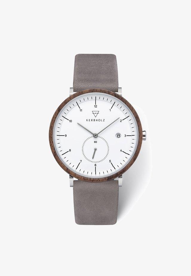 ANTON - Uhr - grau