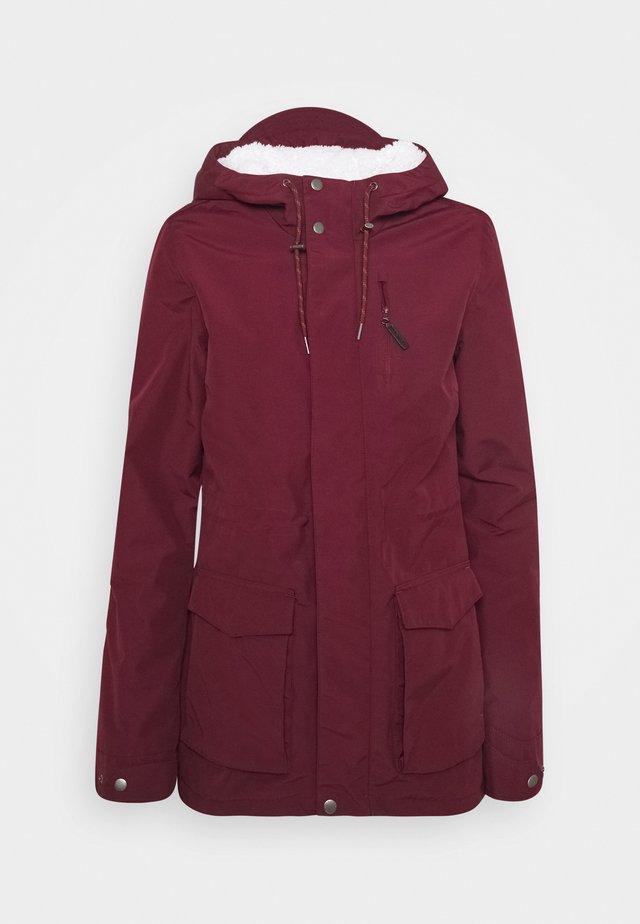 WANDERLUST JACKET - Snowboard jacket - windsor wine