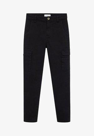 Pantalon cargo - zwart