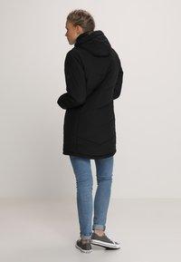 Jack Wolfskin - SVALBARD COAT WOMEN - Winter coat - black - 2