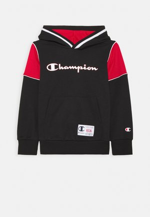 BASKET GAME HOODED UNISEX - Bluza - black