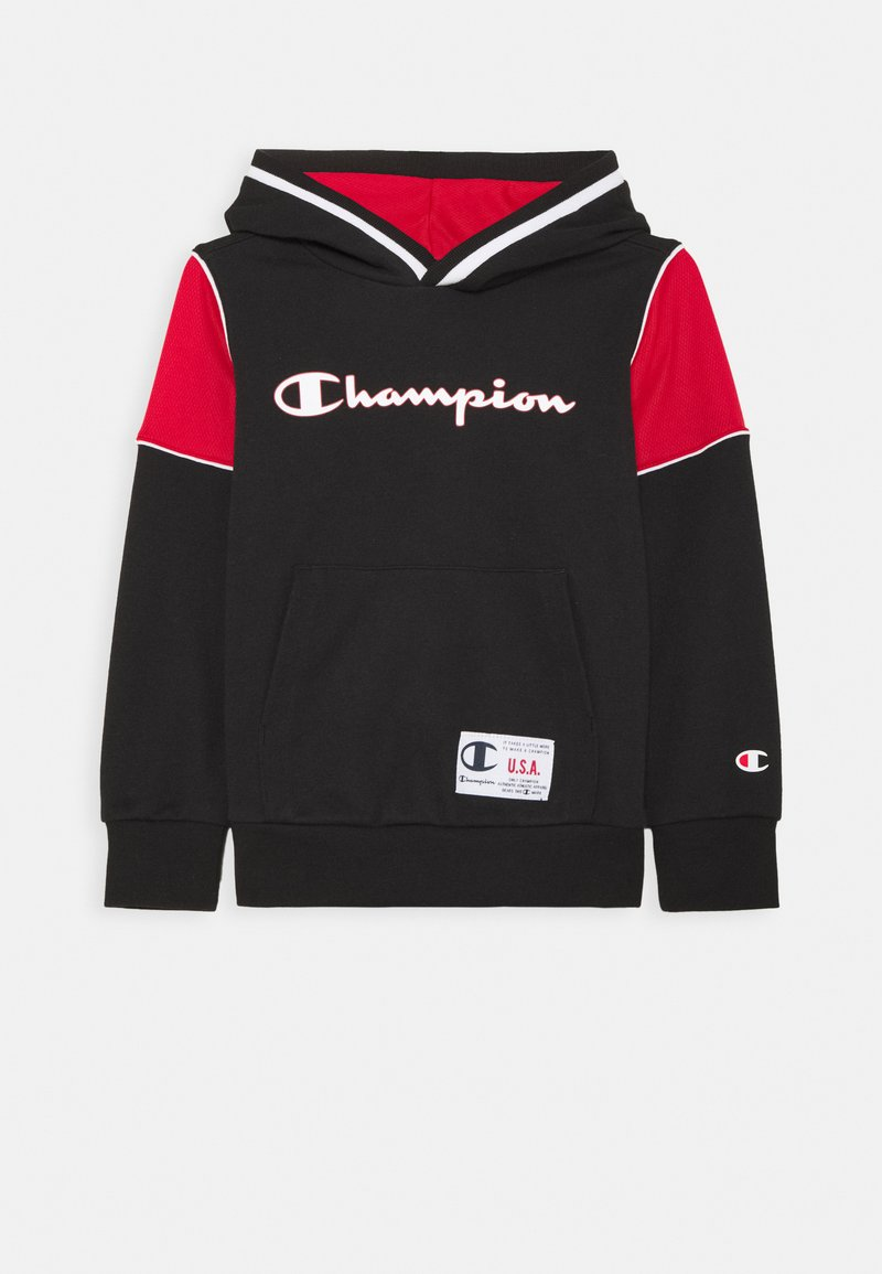 Champion - BASKET GAME HOODED UNISEX - Sudadera - black