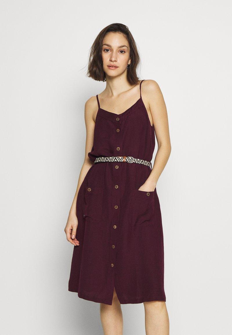 Ragwear - ANTOLIA DRESS - Day dress - plum