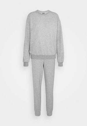 VMNATALIA SET  - Mikina - light grey melange