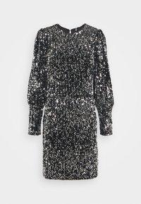 Pieces - PCDIZZIE DRESS - Cocktail dress / Party dress - black - 0