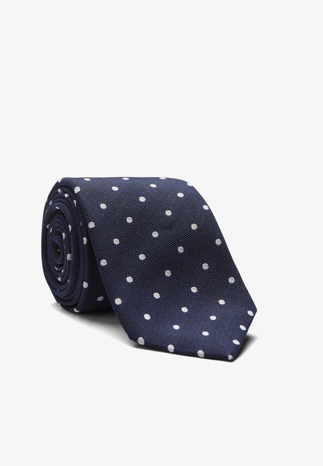 LEROY - Krawatte - navy