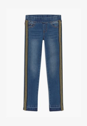 RANA GLEE - Jeggings - dark blue denim