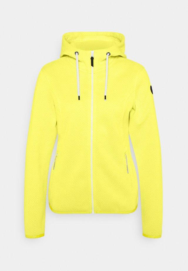 ADRIAN - Fleece jacket - yellow