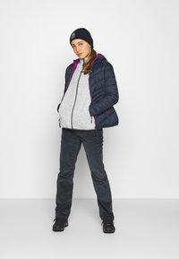 CMP - Fleece jacket - gesso melange/graffite - 1