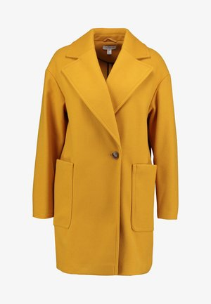 CARLY CHUCK ON - Short coat - mustard