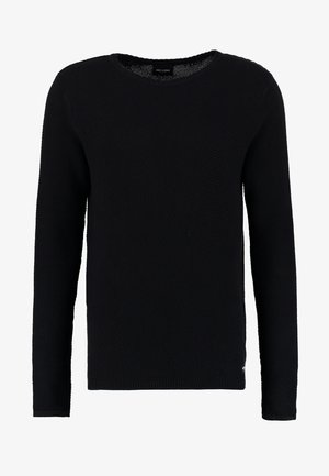 ONSDAN STRUCTURE CREW NECK  - Svetr - black