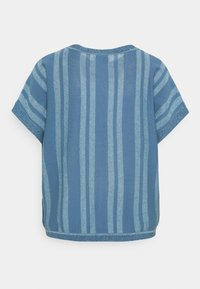 Nümph - NUDAGAN DARLENE - T-shirts med print - blue shadow - 6