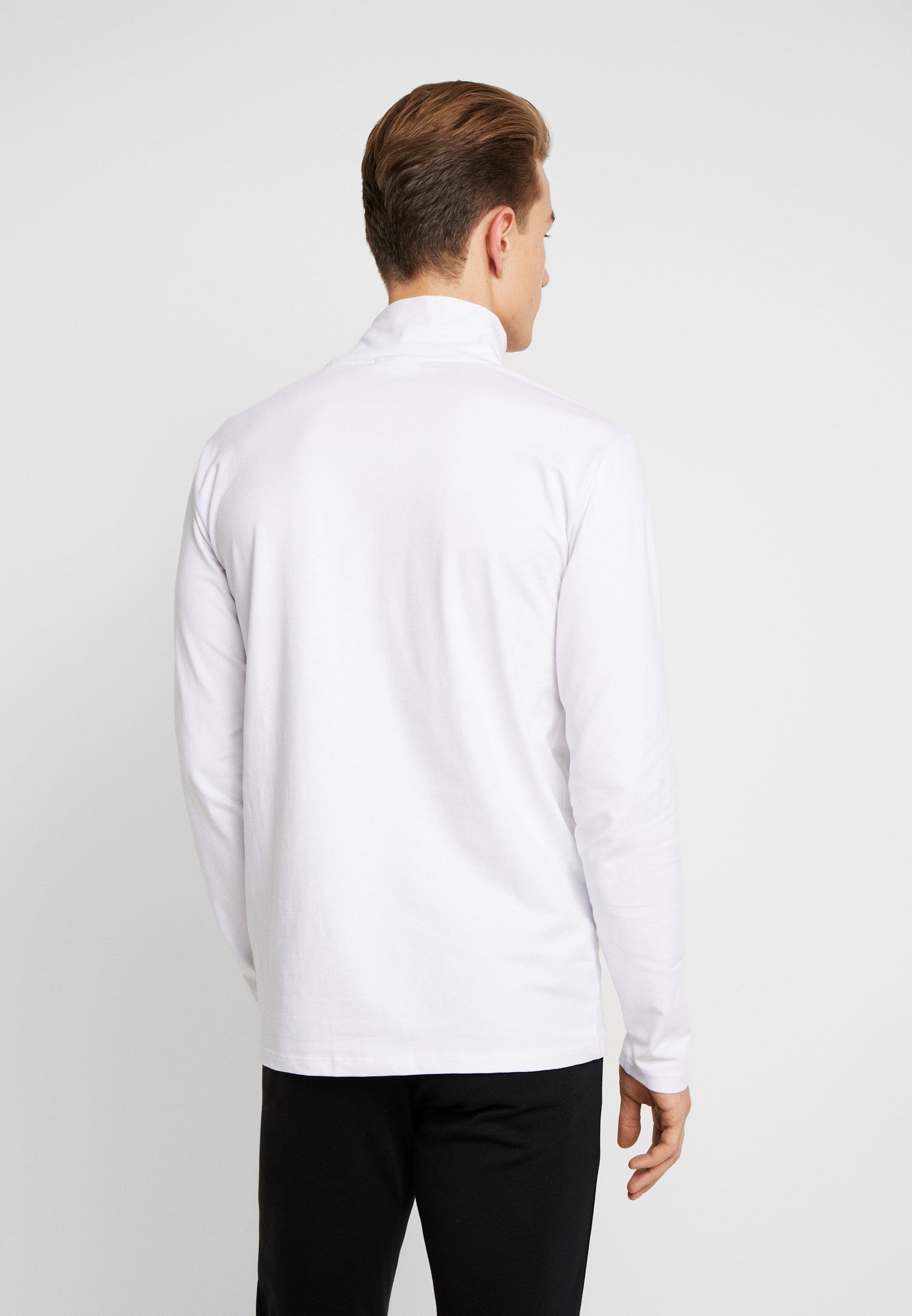 Lindbergh TURTLE NECK TEE - Long sleeved top - white AnLM6