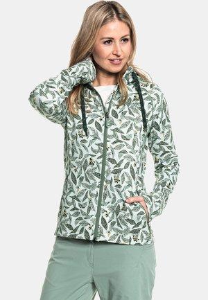 FLEECE HOODY MAIDSTONE  - Zip-up sweatshirt - green