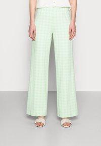 Résumé - ESTHI PANTS - Trousers - pastel green - 0