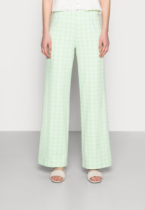 ESTHI PANTS - Trousers - pastel green