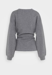 Lounge Nine - WILMA TIEBELT - Sweatshirt - dark grey melange - 7