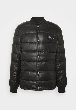 LIGHT FILL PUFFER BOMBER - Jas - black