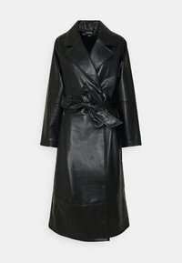 Monki - KYLIE COAT - Kappa / rock - black - 4
