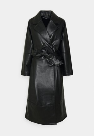 KYLIE COAT - Villakangastakki - black
