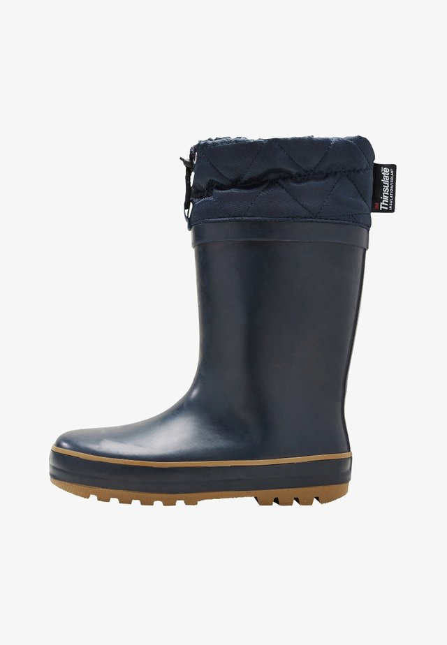 CUFF WELLIES (OLDER BOYS) - Bottes en caoutchouc - blue