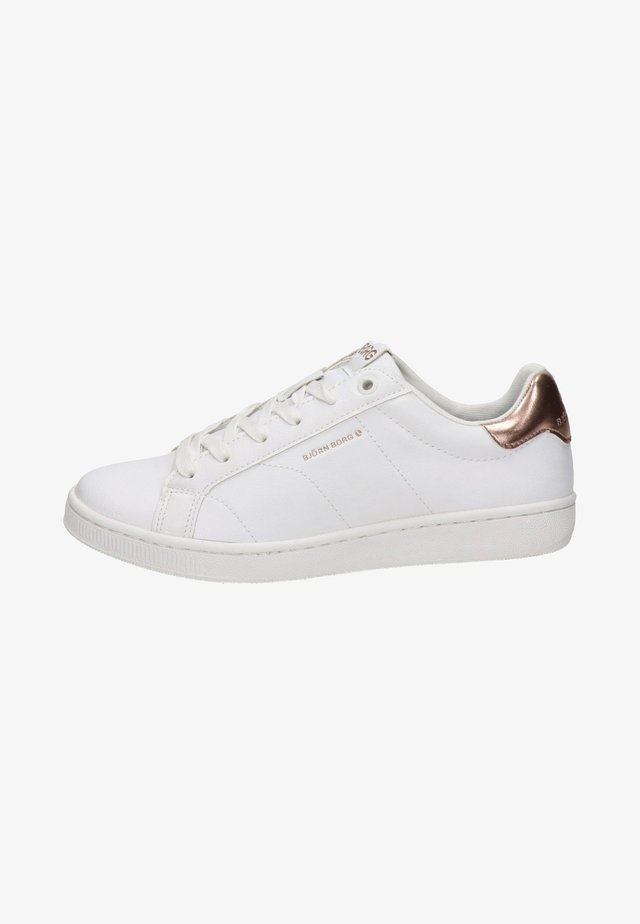 Sneakersy niskie - rose goud