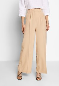 EDITED - KELLY TROUSERS - Trousers - beige - 0