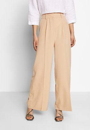 KELLY TROUSERS - Pantalones - beige