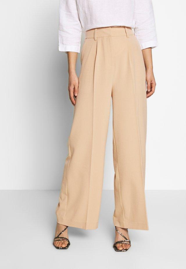 KELLY TROUSERS - Trousers - beige