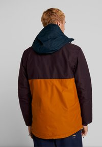 Columbia - TIMBERTURNER JACKET - Snowboardjacke - burnished amber/black cherry - 2