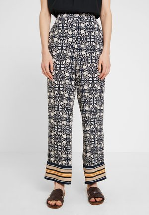 MILLES - Trousers - dark blue