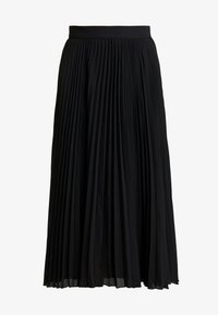 Weekday - VALENTINE PLEATED SKIRT - Pleated skirt - black