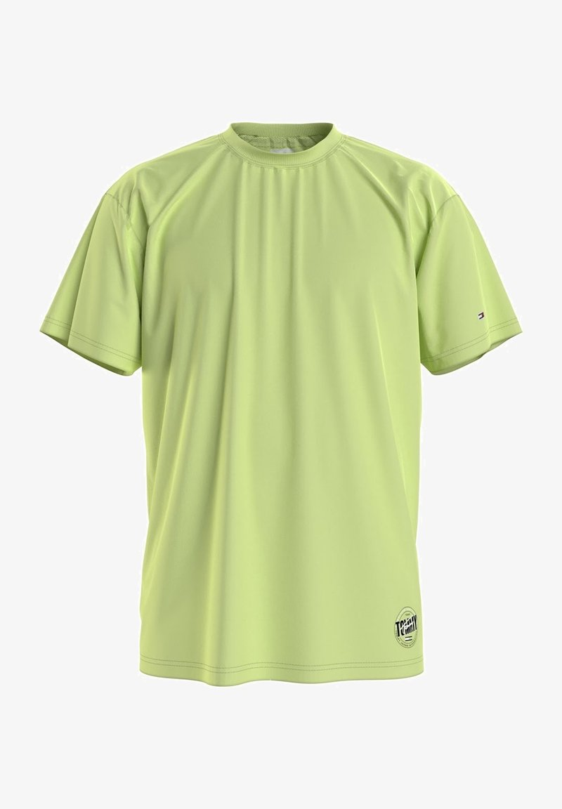 Tommy Jeans - Print T-shirt - faded lime