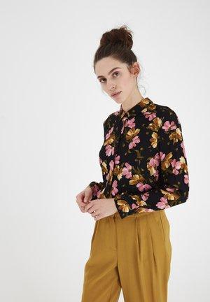 IHCELTIC - Button-down blouse - black