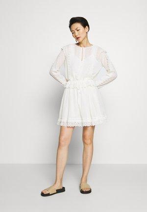 ABITO CORTO IN SANGALLO - Day dress - off-white