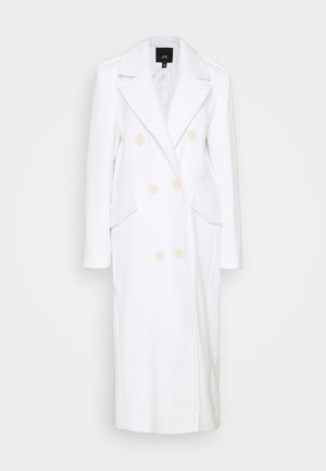POWER SHOULDER COAT - Mantel - white